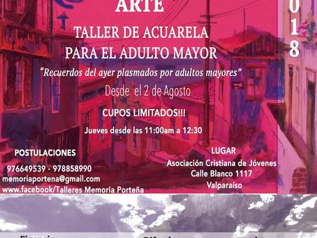 TALLER DE ACUARELA: MEMORIA PORTEÑA Y ARTE