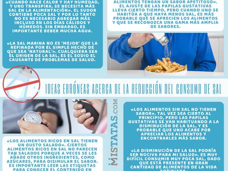 Ideas erróneas acerca de la reducción del consumo de sal