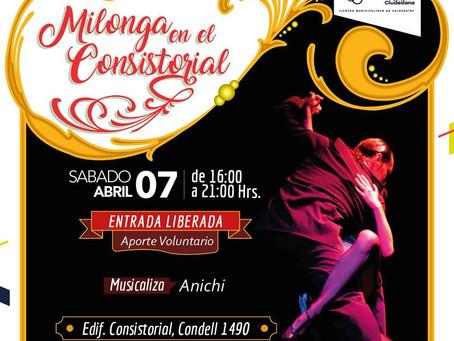 MILONGA EN EL CONSISTORIAL