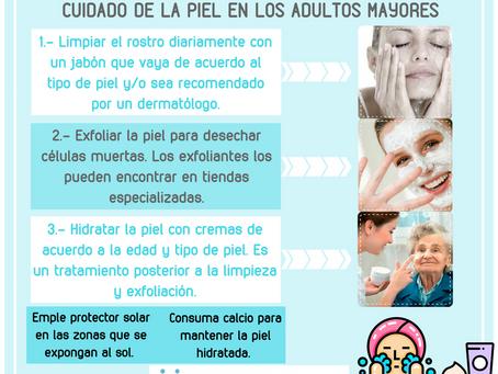 CUIDADO DE LA PIEL EN LOS ADULTOS MAYORES