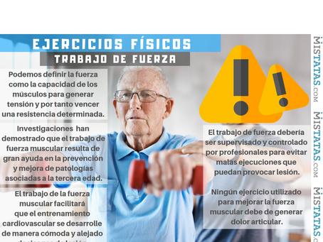 EJERCICIOS FÍSICOS PARA ADULTOS MAYORES - LA FUERZA