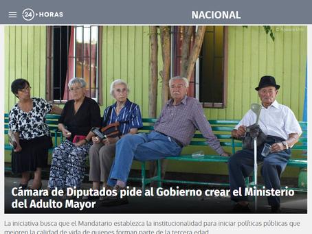 NOTICIA - CÁMARA DE DIPUTADOS PIDE AL GOBIERNO CREAR MINISTERIO DEL ADULTO MAYOR