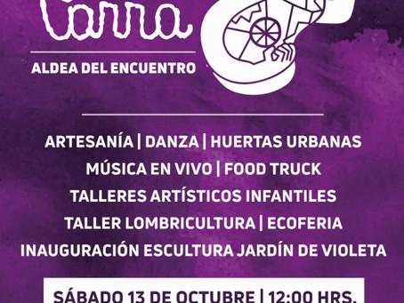 13 DE OCTUBRE - JORNADA CULTURAL EN CONMEMORACIÓN DE LOS 101 AÑOS DE VIOLETA PARRA