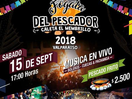 15 DE SEPTIEMBRE - FOGATA DEL PESCADOR VALPARAÍSO 2018