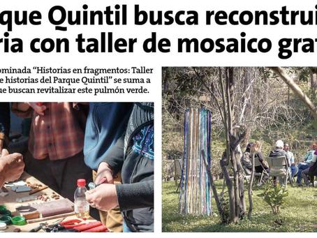 NOTICIA: TALLER GRATUITO DE MOSAICO.