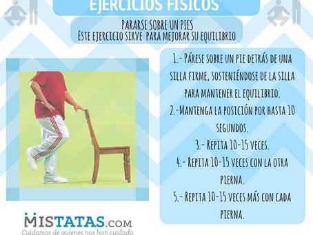 EJERCICIOS FÍSICOS/ EQUILIBRIO