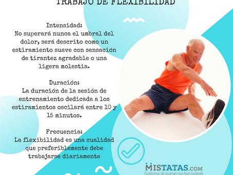 TRABAJO DE FLEXIBILIDAD