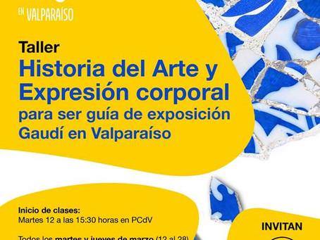 MARTES 12 DE MARZO- TALLER ''HISTORIA DEL ARTE Y EXPRESIÓN CORPORAL''