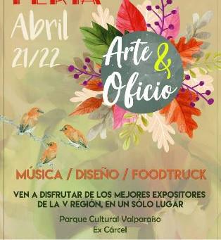 FERIA ARTES Y OFICIO 21/22 DE ABRIL