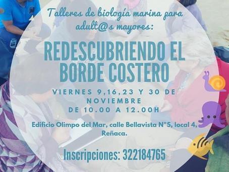 TALLER GRATUITO ''REDESCUBRIENDO EL BORDE COSTERO''