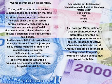 Cómo identificar billetes falsos?