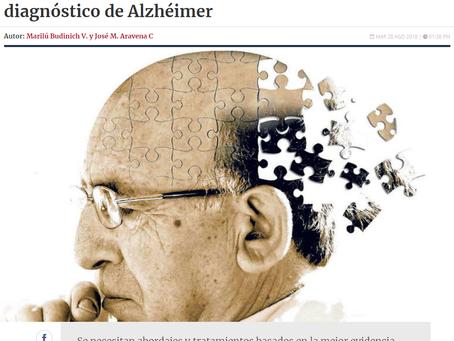 NOTICIA - COLUMNA DE ENVEJECIMIENTO: LA VIDA NO SE ACABA CON EL DIAGNÓSTICO DE ALZHÉIMER