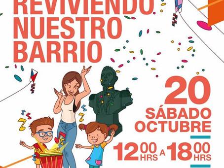 20 DE OCTUBRE - FESTIVAL VECINAL ''REVIVIENDO NUESTRO BARRIO''