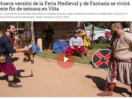 FERIA MEDIEVAL Y DE FANTASÍA