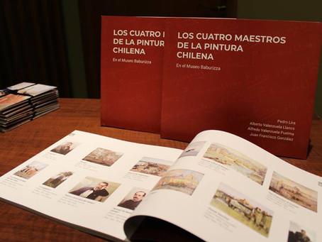 30 DE MAYO - VISITA GUIADA Y ENTREGA DE LIBRO ''LOS CUATRO MAESTROS DE LA PINTURA CHILENA&#3