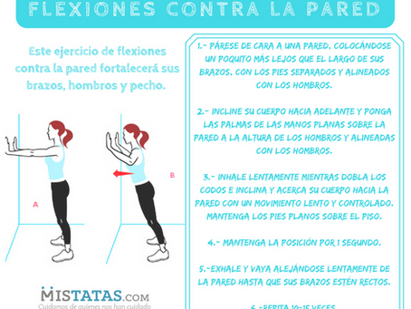 FLEXIONES CONTRA LA PARED