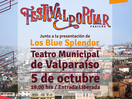 5 DE OCTUBRE - LANZAMIENTO FESTIVAL POPULAR PORTEÑO