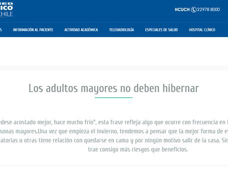NOTICIA - LOS ADULTOS MAYORES NO DEBEN HIBERNAR
