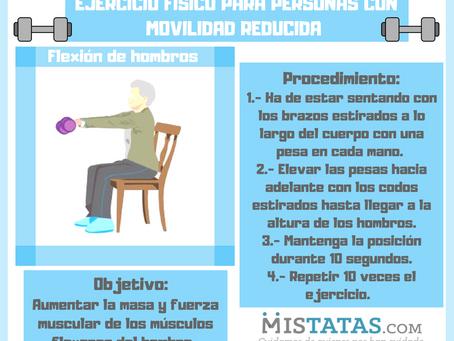EJERCICIO FÍSICO PARA PERSONAS CON MOVILIDAD REDUCIDA