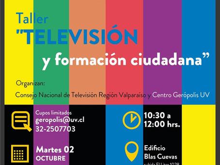 TALLER - ''TELEVISIÓN Y FORMACIÓN CIUDADANA''