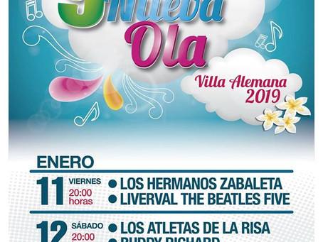 11 Y 12 DE ENERO - ''FESTIVAL DE LA NUEVA OLA''