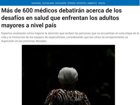 NOTICIA - Más de 600 médicos debatirán acerca de los desafíos en salud que enfrentan los adultos may