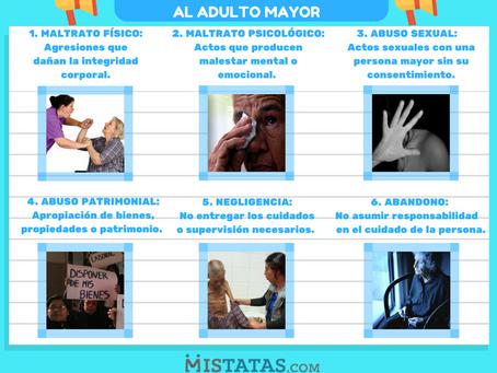TIPOS DE MALTRATO AL ADULTO MAYOR