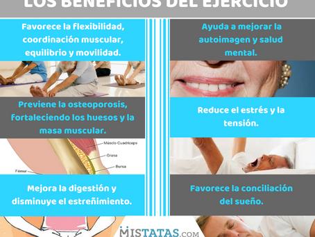 LOS BENEFICIOS DEL EJERCICIO