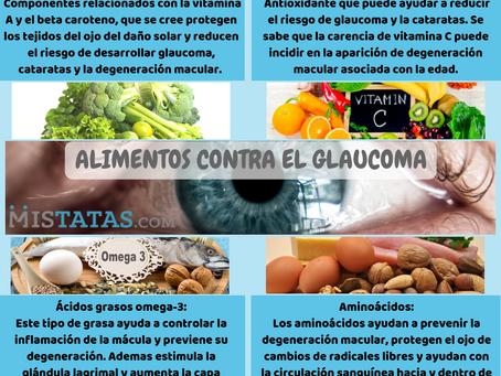 ALIMENTOS CONTRA EL GLAUCOMA