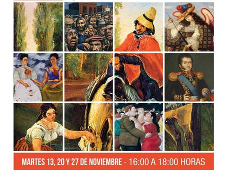 13, 20 Y 27 DE NOVIEMBRE - CURSO PARA PERSONAS MAYORES/ ARTE LATINOAMERICANO: ALGUNOS HITOS DE SU DE