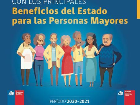 SENAMA pública guía gratuita con los principales beneficios del Estado para los adultos mayores