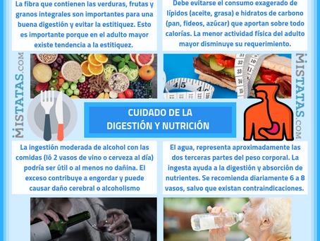 CUIDADO DE LA DIGESTIÓN Y NUTRICIÓN