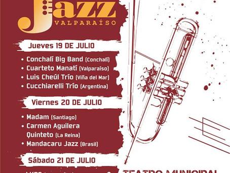 19, 20 y 21 DE JULIO - IV FESTIVAL INTERNACIONAL DE JAZZ DE VALPARAÍSO