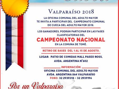 XX CAMPEONATO COMUNAL DE CUECA DEL ADULTO MAYOR
