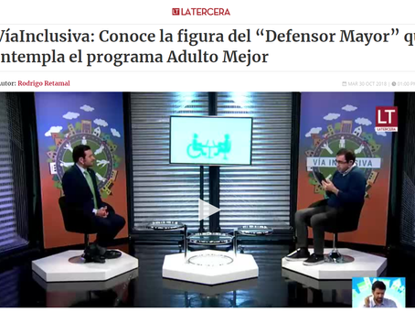 NOTICIA - CONOCE LA FIGURA DEL ´´DEFENSOR MAYOR´´ QUE CONTEMPLA EL PROGRAMA ADULTO MEJOR
