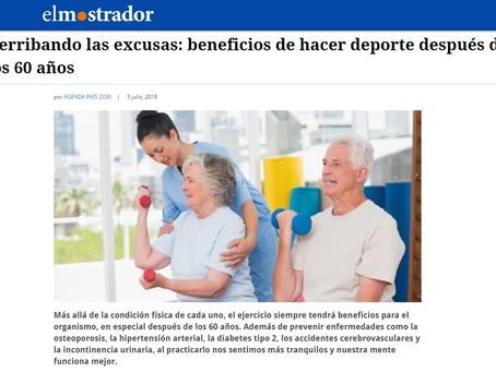 NOTICIA - DERRIBANDO LAS EXCUSAS: BENEFICIOS DE HACER DEPORTE DESPUÉS DE LOS 60 AÑOS