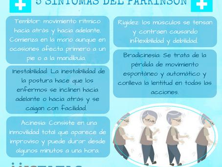5 SÍNTOMAS DEL PARKINSON