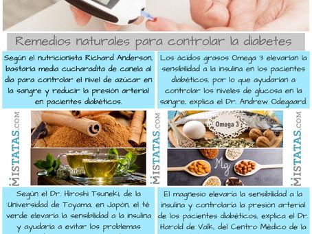REMEDIOS NATURALES PARA CONTROLAR LA DIABETES