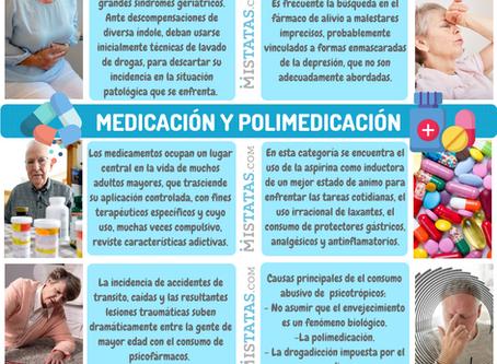 MEDICACION Y POLIMEDICACION - ADICCIONES EN TERCERA EDAD