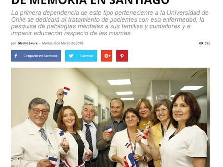 NOTICIAS: INAUGURAN UNIDAD DE MEMORIA EN SANTIAGO