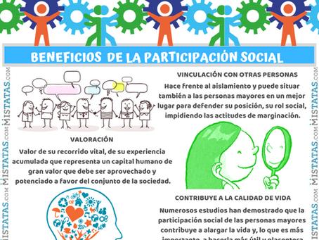 BENEFICIOS  DE LA PARTICIPACIÓN SOCIAL