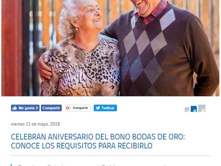 REQUISITOS PARA OBTENER BONO BODAS DE ORO