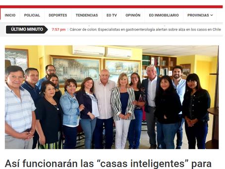 """NOTICIA - Así funcionarán las """"casas inteligentes"""" para adultos mayores en Villa Alemana"""