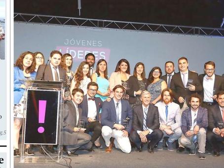 Daniel Osorio, uno de nuestros fundadores, fue elegido Joven Líder de la Región por El Mercurio y la