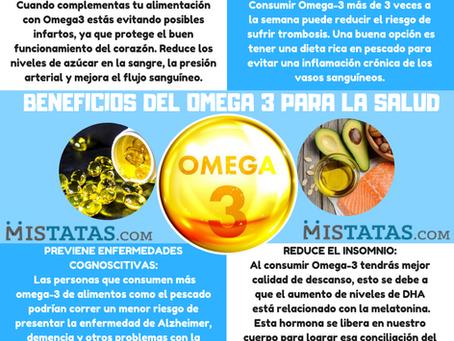 BENEFICIOS DEL OMEGA 3 PARA LA SALUD