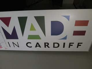 Mark featured on 'Made in Cardiff'