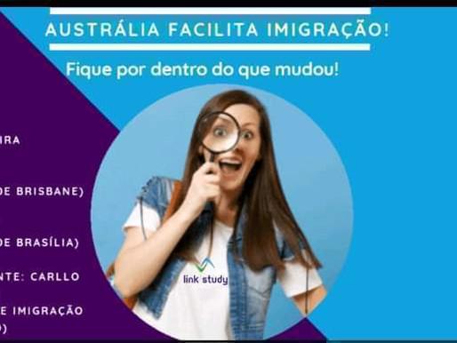 Austrália Facilita Imigração!!