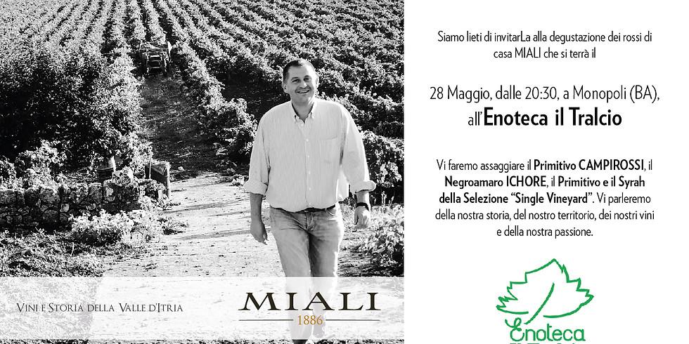 WINE TASTING at ENOTECA IL TRALCIO Monopoli