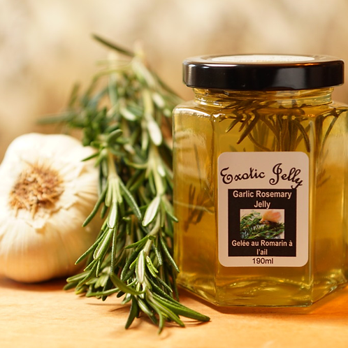 Garlic Rosemary Jelly