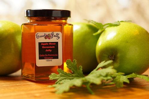 Apple Rose Geranium Jelly